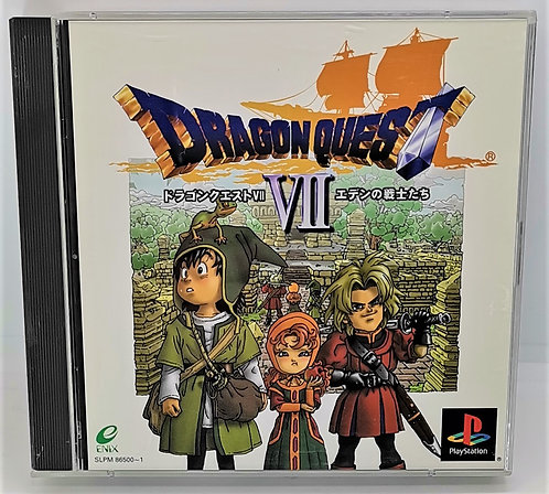 Dragon Quest VII for Sony PlayStation PS1