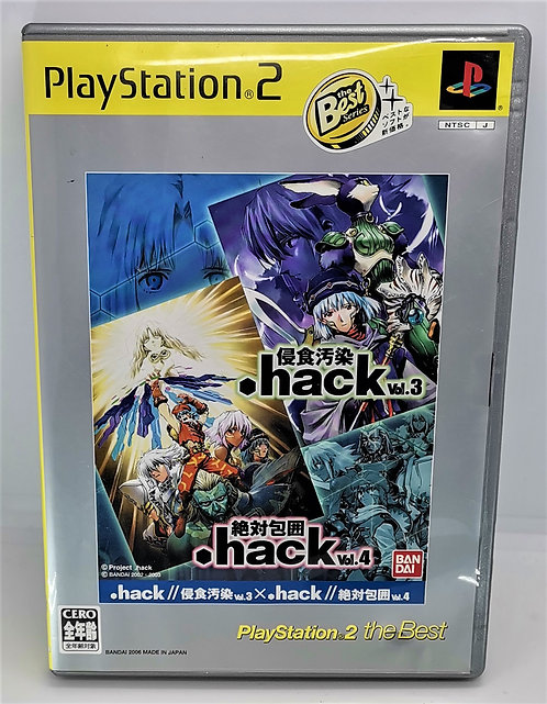 .hack// Vol. 3 x Vol. 4 for Sony PlayStation 2 PS2