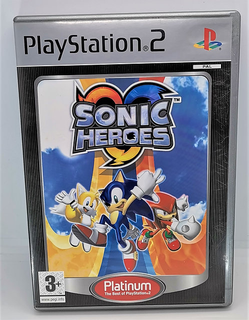 Sonic Heroes for Sony PlayStation 2 PS2