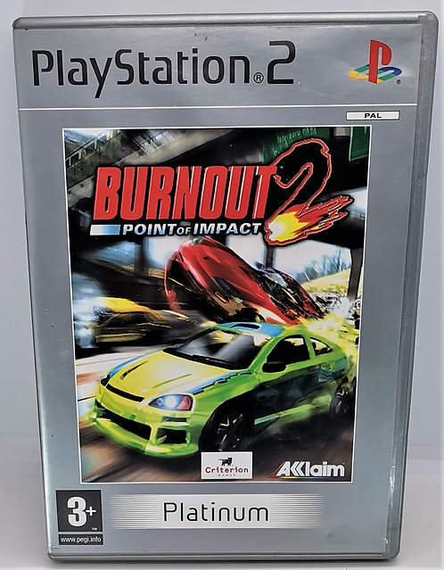 Burnout 2: Point of Impact for Sony PlayStation 2 PS2