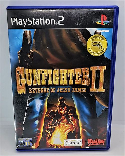 Gunfighter II (2): Revenge of Jesse James for Sony PlayStation 2 PS2