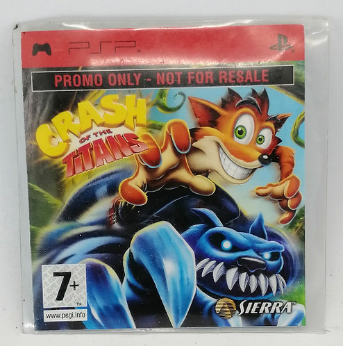 Crash of the Titans for Sony PlayStation Portable PSP