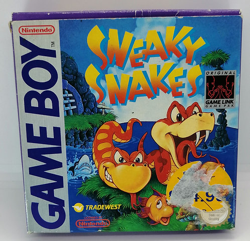 Sneaky Snakes for Nintendo Game Boy