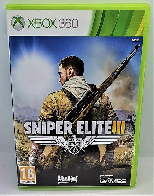 Sniper Elite III: Afrika for Microsoft Xbox 360