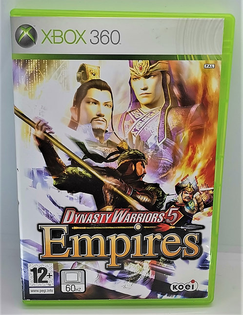 Dynasty Warriors 5: Empires for Microsoft Xbox 360