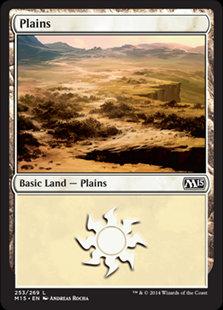 MAGIC THE GATHERING MAGIC 2015 Card - 253/269 : Plains