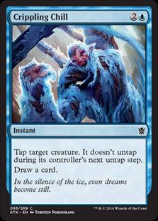 MAGIC THE GATHERING KHANS OF TARKIR Card - 035/269 : Crippling Chill