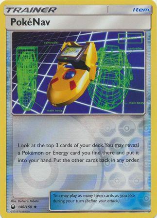 POKEMON Card SUN AND MOON - CELESTIAL STORM - (Reverse Holo) 140/168 : PokeNav