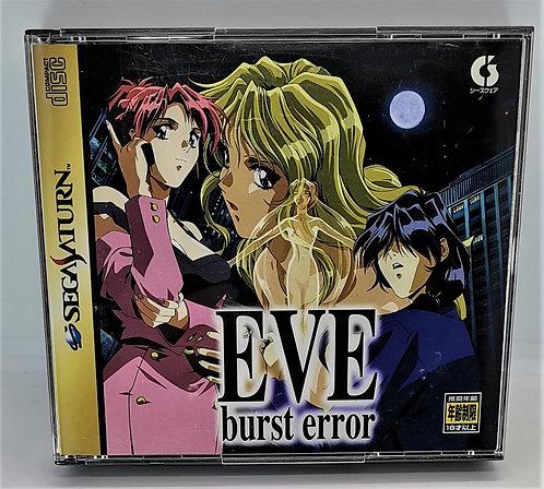 EVE Burst Error for Sega Saturn