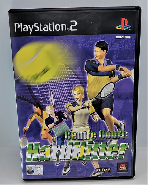 Centre Court: Hard Hitter for Sony PlayStation 2 PS2