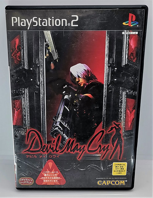 Devil May Cry for Sony PlayStation 2 PS2