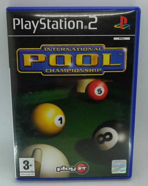 International Pool Championship for Sony PlayStation 2 PS2