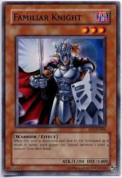Yu-Gi-Oh! Card EP1-EN006 Familiar Knight