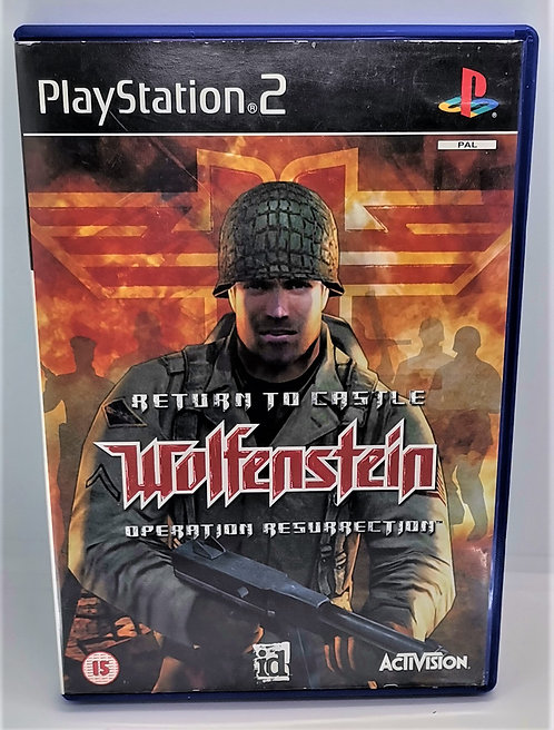 Return to Castle Wolfenstein for Sony PlayStation 2 PS2