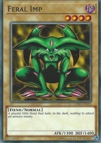 Yu-Gi-Oh! Card MRD-E001 Feral Imp
