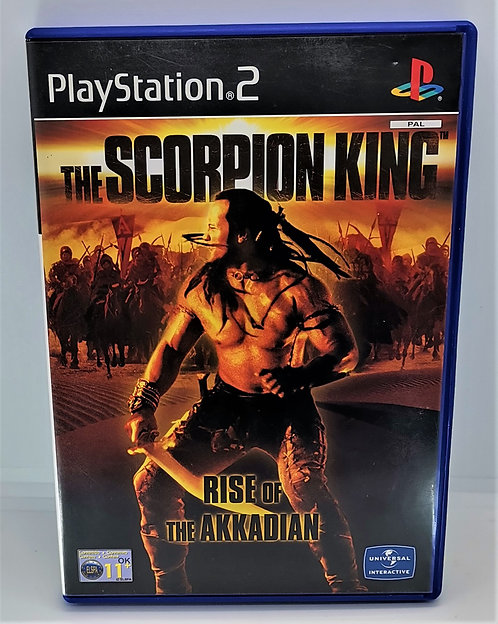 The Scorpion King: Rise of the Akkadian for Sony PlayStation 2 PS2