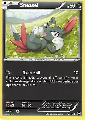 Pokemon Single Card XY - STEAM SIEGE - 060/114 : Sneasel