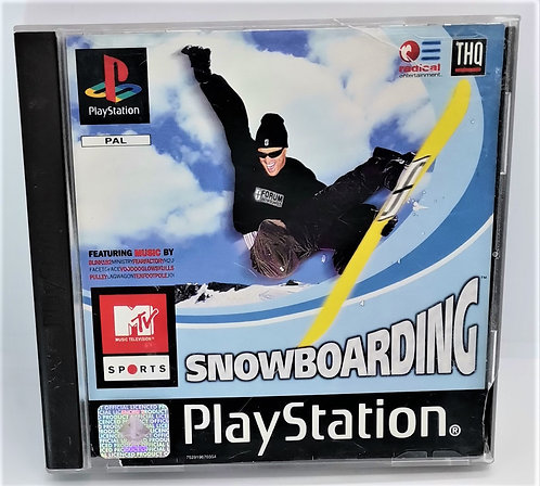 MTV Sports: Snowboarding for Sony PlayStation PS1