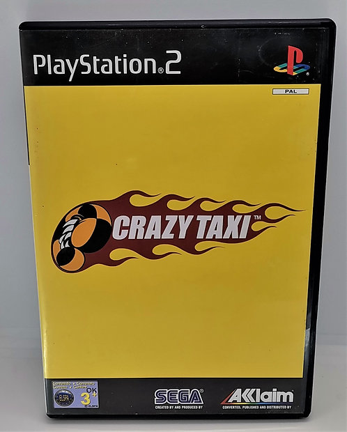 Crazy Taxi for Sony PlayStation 2 PS2