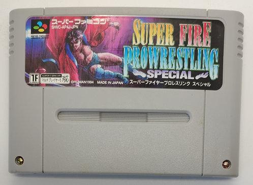 Super Fire ProWrestling Special for Nintendo Super Famicom