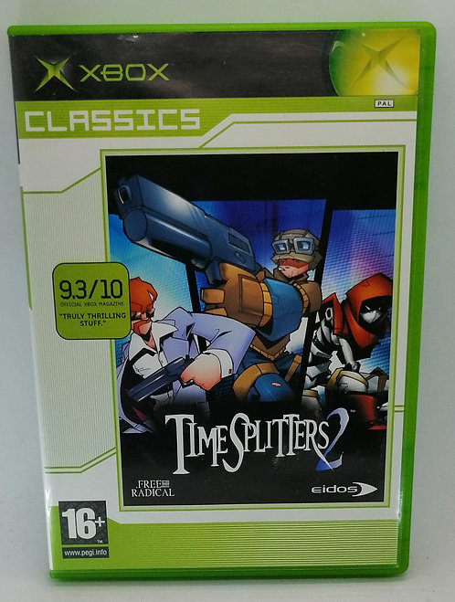 TimeSplitters 2 for Microsoft Xbox
