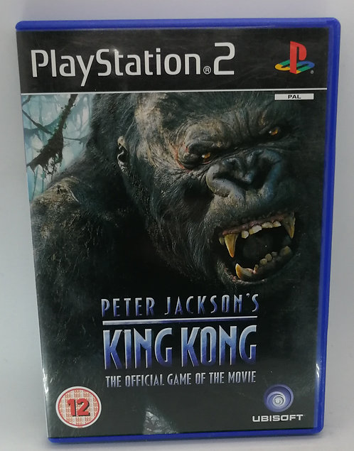 Peter Jackson's King Kong for Sony PlayStation 2 PS2