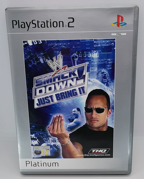 WWF SmackDown! Just Bring It for Sony PlayStation 2 PS2