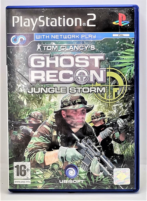 Tom Clancy's Ghost Recon: Jungle Storm for Sony PlayStation 2 PS2
