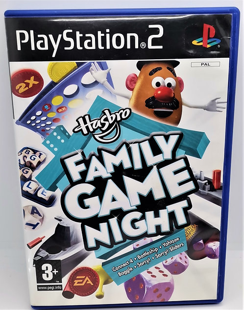 Hasbro Family Game Night for Sony PlayStation 2 PS2