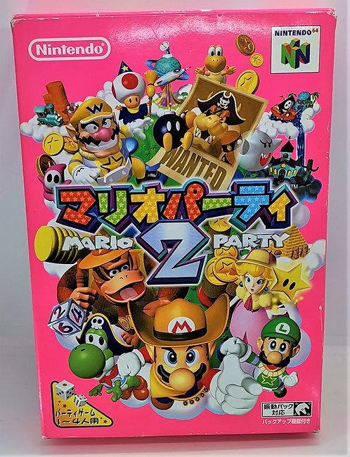 Mario Party 2 for Nintendo N64