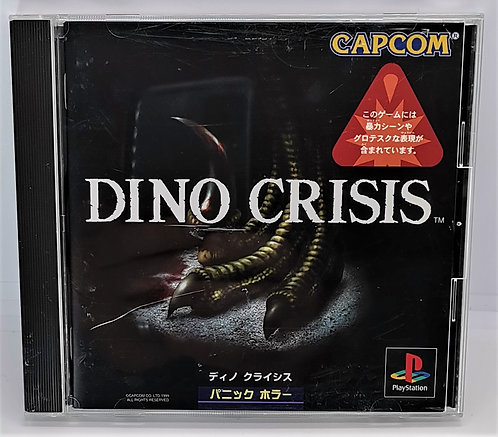 Dino Crisis for Sony PlayStation PS1