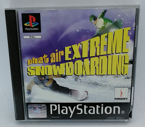Phat Air: Extreme Snowboarding for Sony PlayStation PS1