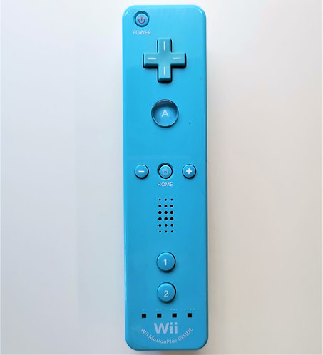Nintendo Wii Remote Plus (Blue) for Nintendo Wii