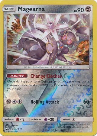 POKEMON Card SM - ULTRA PRISM - 091/156 : Magearna (Reverse Holo)