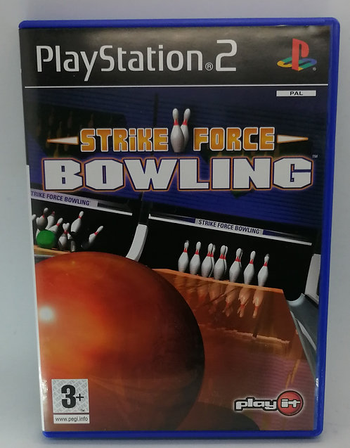 Strike Force Bowling for Sony PlayStation 2 PS2