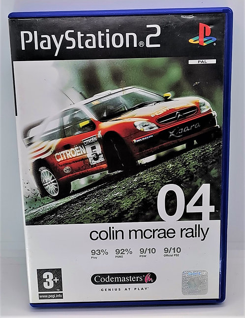 Colin McRae Rally 04 for Sony PlayStation 2 PS2