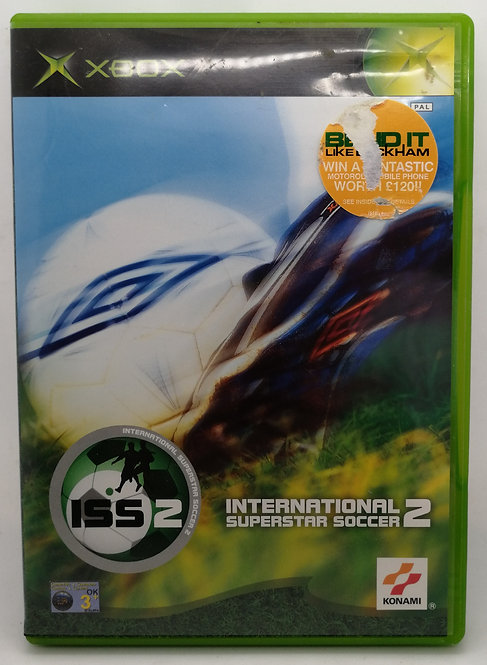 International Superstar Soccer 2 for Microsoft Xbox