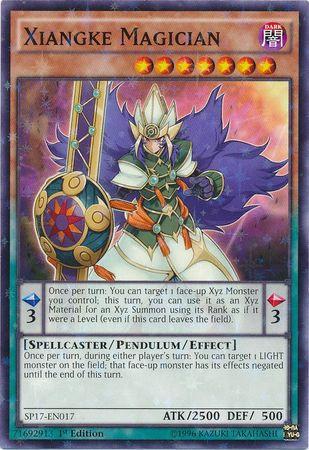 Yu-Gi-Oh! Card SP17-EN017 Xiangke Magician 1st Edition