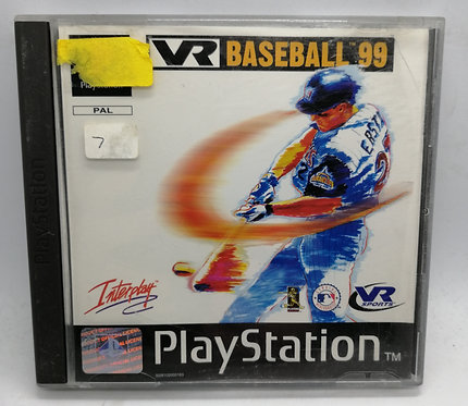 VR Baseball 99 for Sony PlayStation PS1