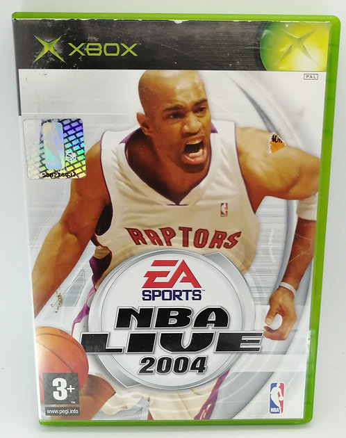 NBA Live 2004 for Microsoft Xbox