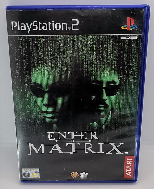 Enter the Matrix for Sony PlayStation 2 PS2