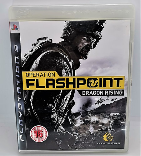 Operation Flashpoint: Dragon Rising for Sony PlayStation 3 PS3
