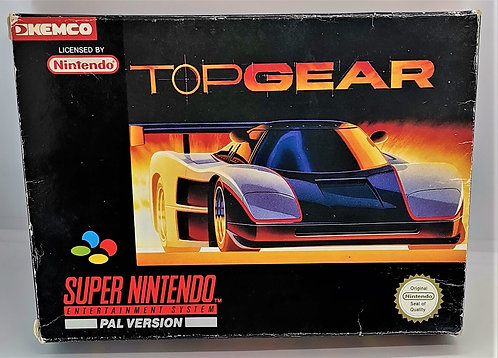 Top Gear for Super Nintendo SNES