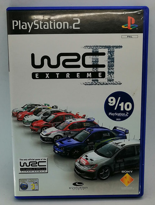 WRC II (2) Extreme for Sony PlayStation 2 PS2