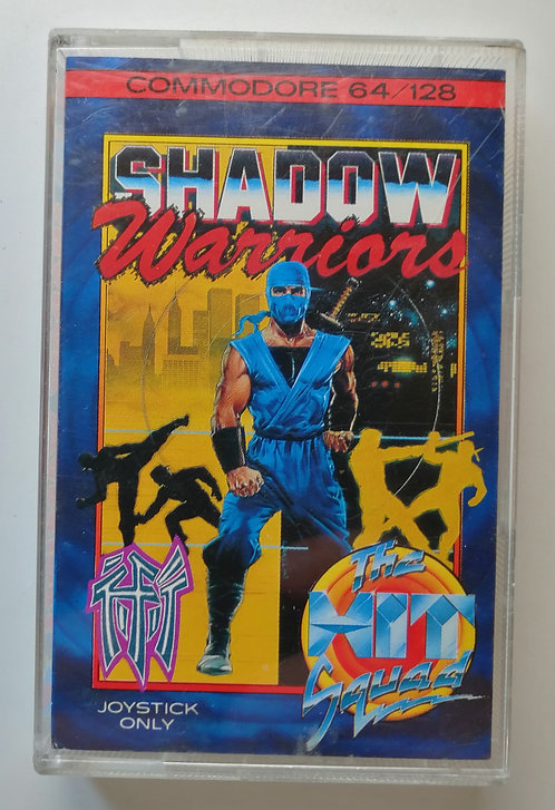 Shadow Warriors for Commodore C64