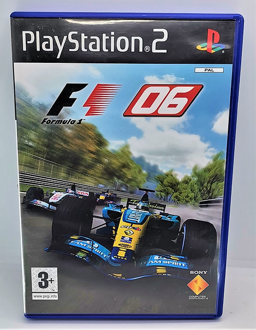 Formula One 06 for Sony PlayStation 2 PS2