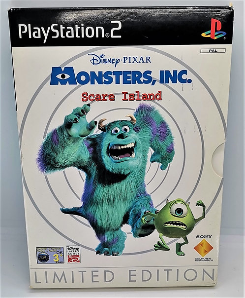 Monsters, Inc.: Scare Island - Limited Edition for Sony PlayStation 2 PS2