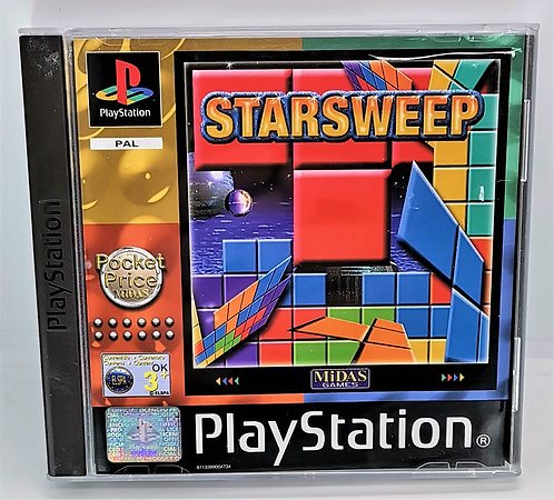 Star Sweep for Sony PlayStation PS1