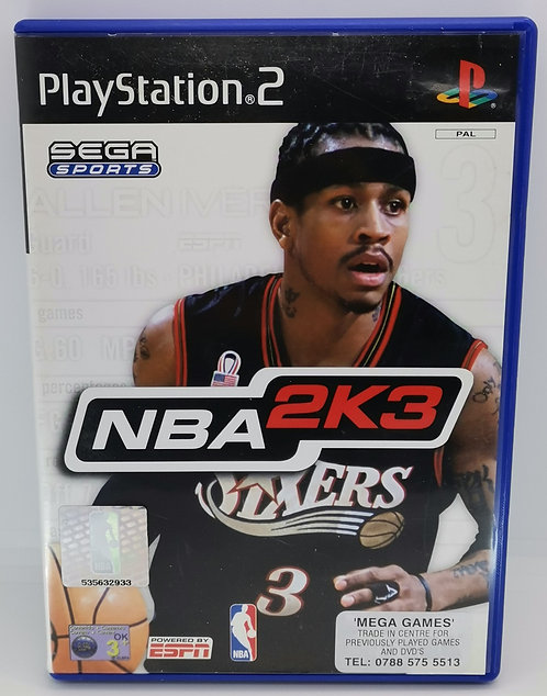 NBA 2K3 for Sony PlayStation 2 PS2