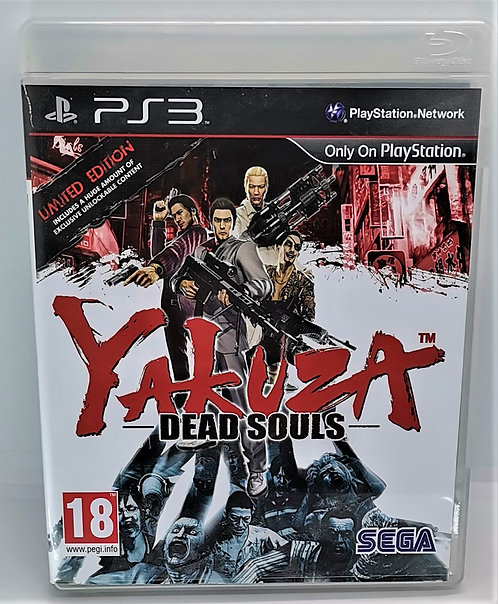 Yakuza: Dead Souls for Sony PlayStation 3 PS3